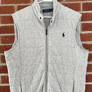 🐎Medium Like New Polo Ralph Lauren Gray Vest